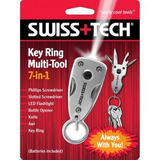 key Ring Multi-Tool 7-in-1