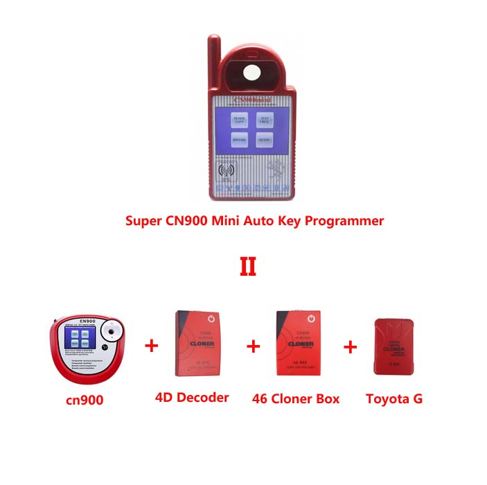 Super CN900 Mini CN900 Transponder Key Programmer Software V5.18 Firmware V1.50.2.23 for 4C 46 4D 48 G Chips