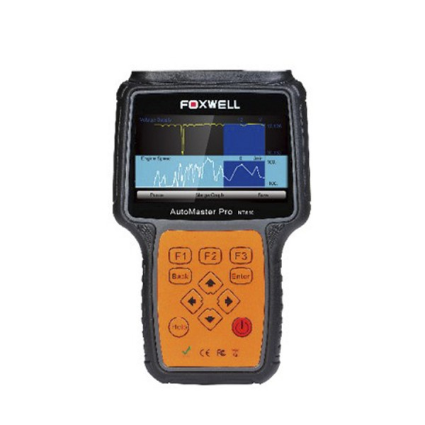 Foxwell NT613 AutoMaster Pro French & Italian Makes 4 Systems Scan Tool