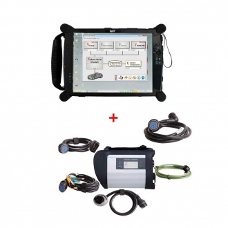 2020.09 MB SD C4 Star Diagnostic Tool With Vediamo V05.01.01 Development and Engineering Software Plus EVG7 Tablet PC