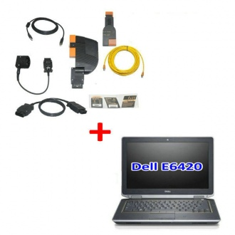 BMW ICOM A+B+C With Latest Software 2020.08 Engineers Version Plus DELL E6420 Laptop