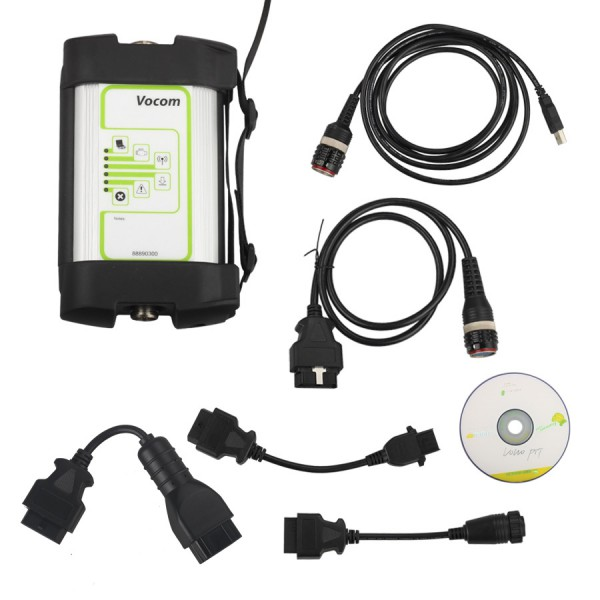 Volvo 88890300 Vocom Interface Support WIFI Connection for Volvo/Renault/UD/Mack Truck Diagnose