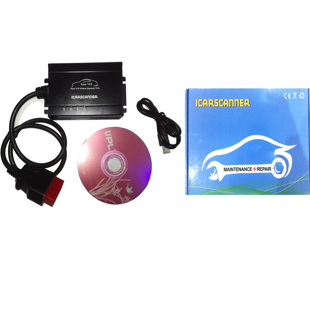 ICARSCANNER 2015 NEW Super VCS Wireless Compact Diagnostic Partner