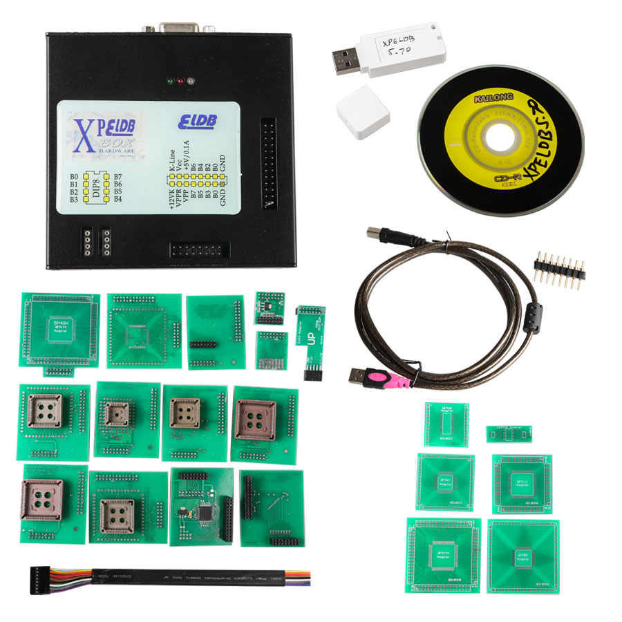Hot Sale 2017 Latest Version XPROG-M V5.70 XPROG M Box ECU Programmer with USB Dongle