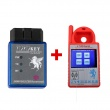 Super CN900 Mini Auto Key Programmer Plus TOYO Key OBD II Key Pro for 4C 46 4D 48 G H Chips