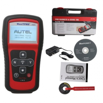 Original Autel TPMS DIAGNOSTIC AND SERVICE TOOL MaxiTPMS TS401