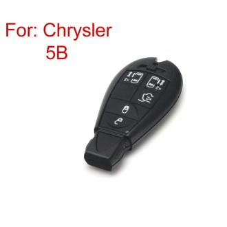 Smart Key Shell 4- Button for Chrysler