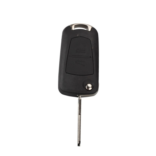 New Modified Flip Remote Key Shell 2 Button (HU46) for Opel 5pcs/lot
