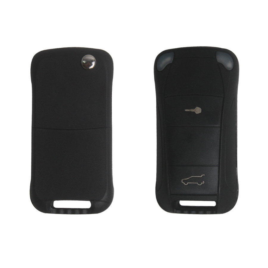Flip Remote Key Shell 2 Button for Porsche