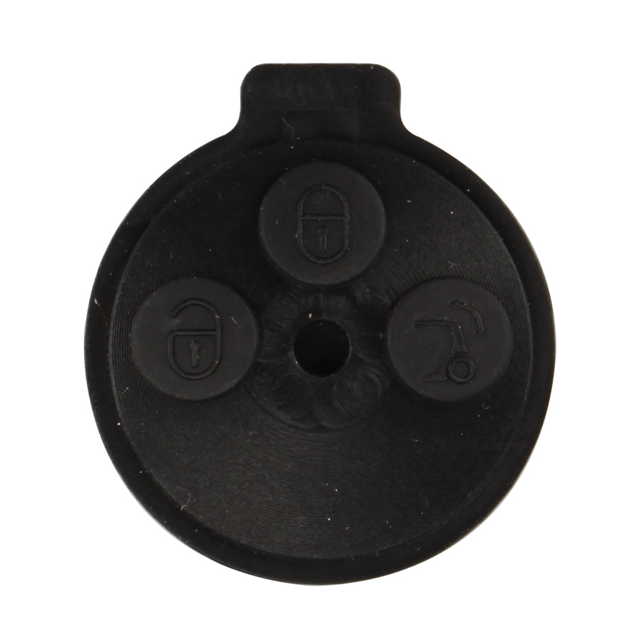 Smart Button Rubber 3 Button for Benz 10pcs/lot