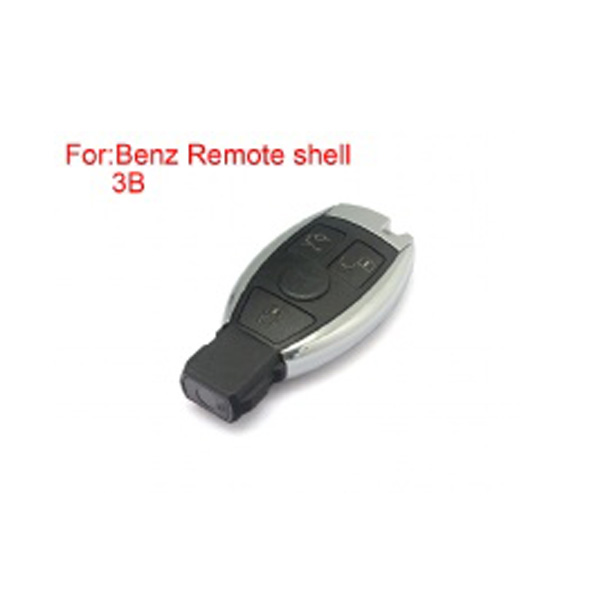 Remote Key Shell 3 Buttons for Mercedes-Benz Waterproof