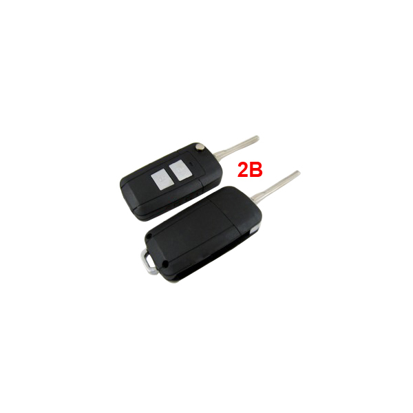 Flip Remote Key Shell 2 Button for Hyundai Elantra HD 10pcs/lot