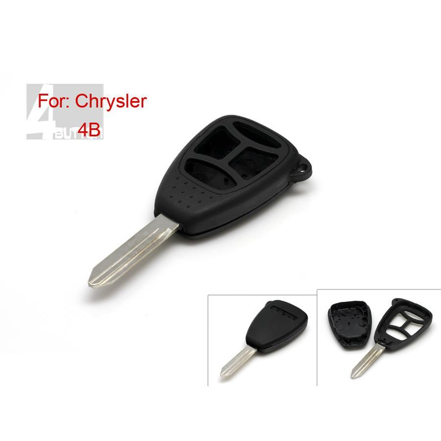 Remote Key Shell 3+1 Button for Chrysler 5pcs/lot