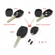 Remote Key Shell 3 Button(With Paper Sticker) For Honda 5pcs/lot