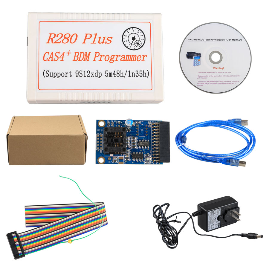 Motorola microcontroller R280+ R280 plus BDM Programmer supports the latest BMW Motorola MC9S12XEP100