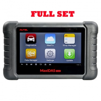 2017 AUTEL MaxiDAS DS808 Kit Android Tablet Diagnostic Tool Full Set Supports Online Update with Injector Coding/Key Cod