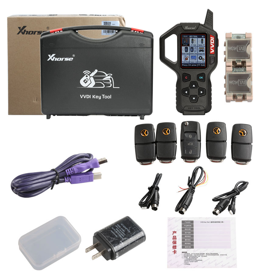 Xhorse VVDI Key Tool Remote Maker Key Programmer English Version V2.3.9