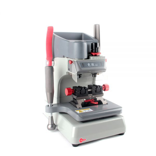 JingJi L2 Multi-Functional Vertical Operation L2 Milling Key Cutting Machine 12 Shining Points