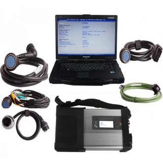 V2020.09 MB SD C4/C5 Star Diagnosis Plus Panasonic CF52 Laptop With Vediamo and DTS Engineering Software Support Offline