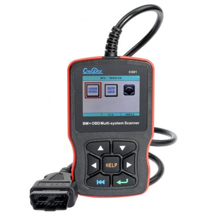 Creator C501 BMW & OBDII/EOBD Multi-system Auto Code Reader for BMW from 2001 to 2019