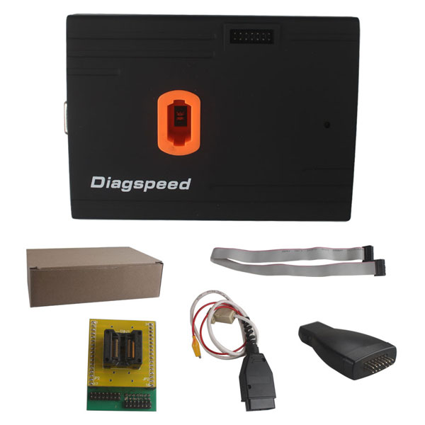 2017 Original V1.06.08 Diagspeed MB Key OBD2 Mercedes Benz Key Programmer(Powerful than VVDI Benz BGA Tool ) Supports Al