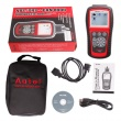 Original Autel AutoLink AL619 OBDII CAN ABS And SRS Scan Tool Update Online
