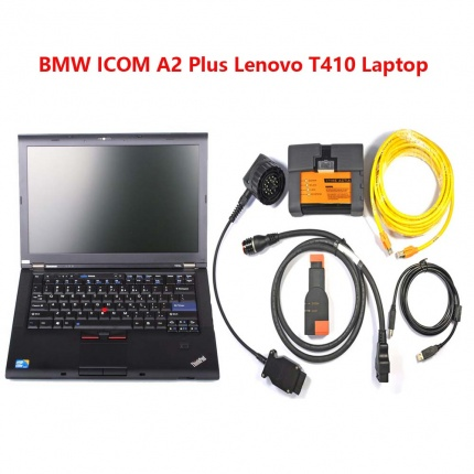 BMW ICOM A2 with 2018.03 ISTA-D 4.09.13 ISTA-P 3.63.2.001 with Engineer Programming HDD Plus Lenovo T410 Laptop 4GB
