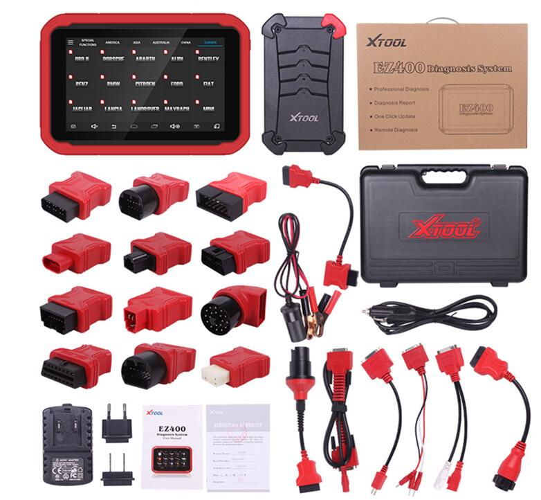XTOOL EZ400 Diagnosis System with WIFI Support Android System and Online Update Same As Xtool PS90