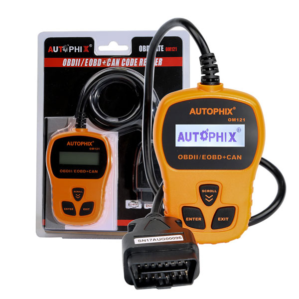 AUTOPHIX OM121 OBD2 EOBD CAN Engine Code Reader Diagnostic Scanner