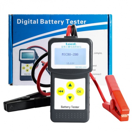 MICRO-200 Car Battery Tester/Analyzer for 12 Volt Vehicles