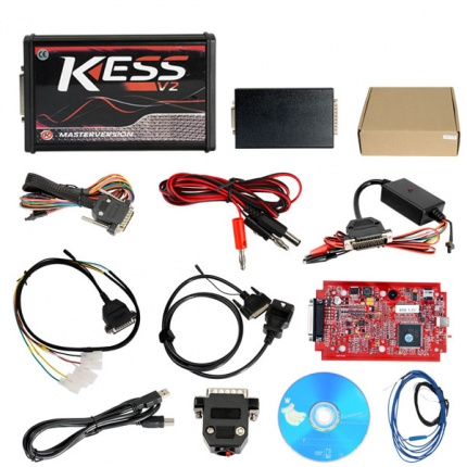 KESS V2 V5.017 Red PCB Firmware EU Version Supports Online Connection No Token Limited