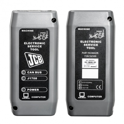 JCB Electronic Service tool with JCB Service Master 4 V17.0 Heavy Duty Truck Diagnostic Scanner