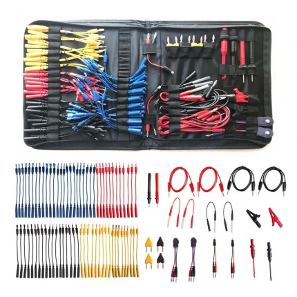 Multi Function Automotive Circuit Tester Lead Kit Contains 92 Pieces Of Essential Test Aids & Test Lead & Electrical Tes