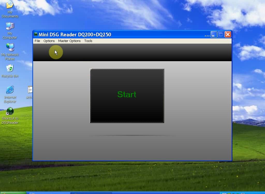 mini dsg reader software