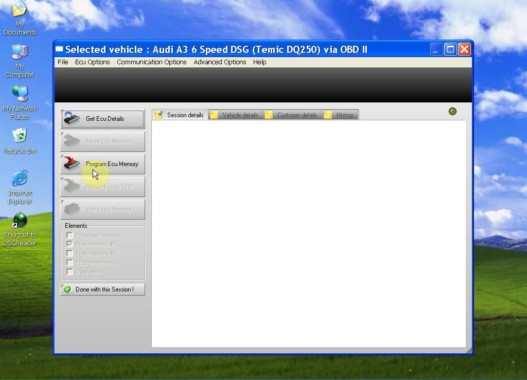 mini dsg reader software 3