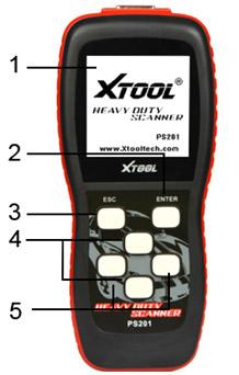 XTOOL PS201 OBD2 CODE READER