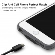 New V-checker T205 Wireless Charger Cell Phone iPhone 6-6s Plus Clip Car Power Source