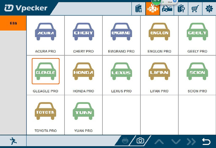 VPECKER Easydiag  Newly Added car models