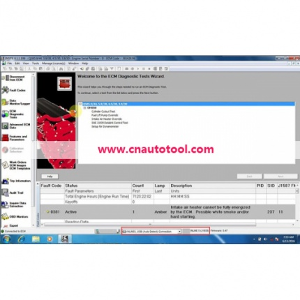 Cummins INSITE 8.3.0120 Software 8.3.0120 Pro Version No Time Limited