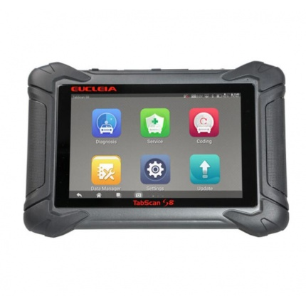 EUCLEIA Tabscan S8 Auto Intelligent Dual-mode Diagnostic and Coding System Update Online Auto Scan Tool