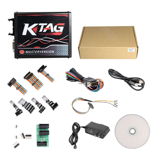 New 4 LED KTAG K-TAG ECU Programming Tool Master Version V2.25 Best Quality