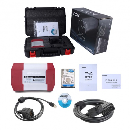 Allscanner VXDIAG Car Diagnostic Tool Scanner for HONDA/GM/VW/FORD/MAZDA/TOYOTA/PIWIS/Subaru/VOLVO/BMW/BENZ/JLR