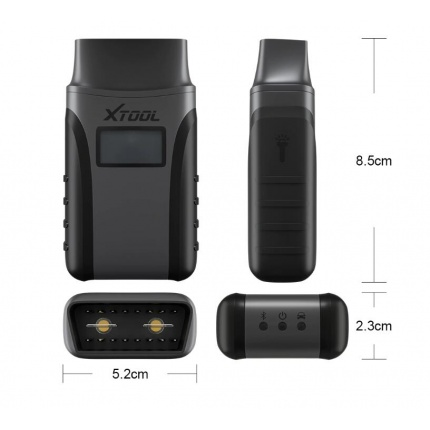 XTOOL Anyscan A30 All system car detector OBDII code reader scanner for EPB Oil reset OBD2 diagnostic tool