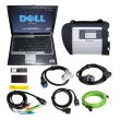 MB SD Connect Compact 4 Star Diagnosis Tool Plus Dell D630 Laptop With Vediamo and DTS Engineering Software 2019.05