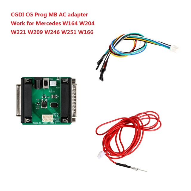 CGDI Prog MB AC Adapter for W164 W204 W221 W209 W246 W251 W166 Quick Data Acquisition same Function as VVDI MB Power Ada
