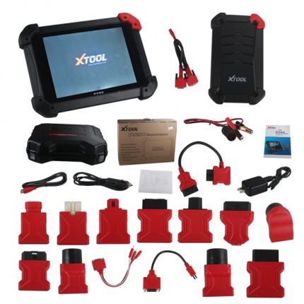 XTOOL PS90 Automotive OBD2 Car Diagnostic Tool Key Programmer/Odometer Correctio/EPS Support Multi Car Models Update Onl