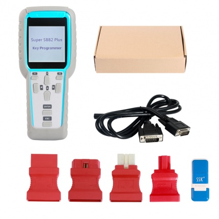 Super SBB2 PLUS SBB2+ Auto Key Programmer for IMMO+ Odometer + OBD Software V2019.3.18