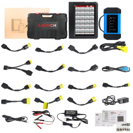 Launch X431 V+ HD3 Wifi/Bluetooth Heavy Duty Truck Diagnostic Tool