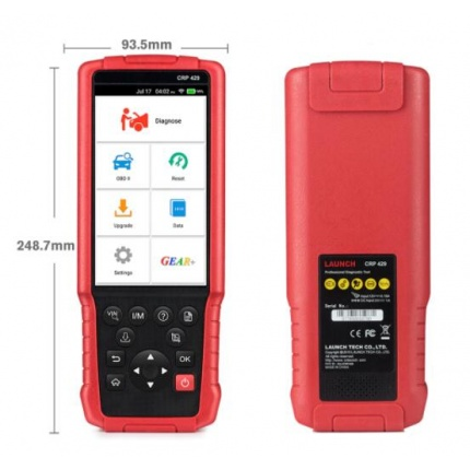 Launch CRP429 Full System Car Diagnostic Tool OBD2 OBDII Code Reader Scan Tool with Oil/EPB/BMS/SAS/ABS Reset