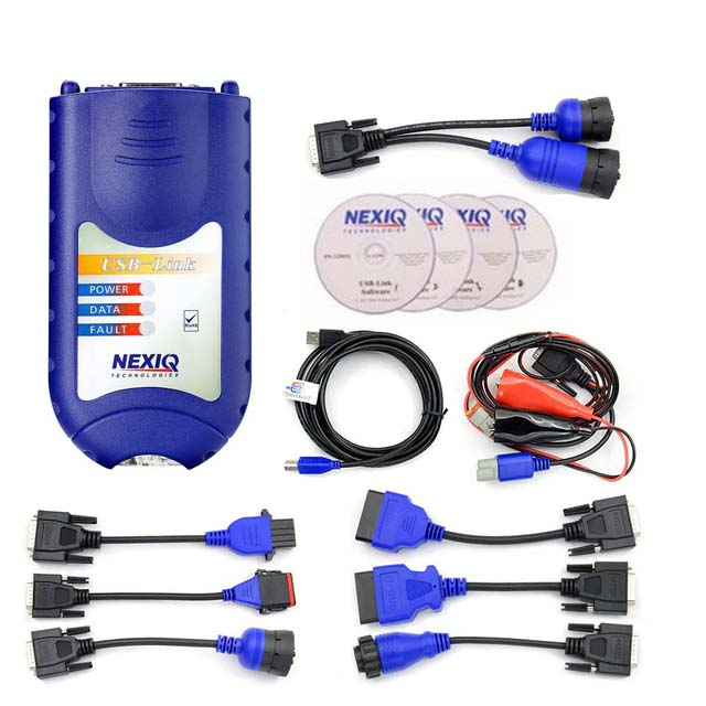 NEXIQ 125032 USB Link + Software Diesel Truck Interface and Software with All Installers